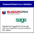 SugarCRM All Sage/Mas Financials Configurable Integration Solution