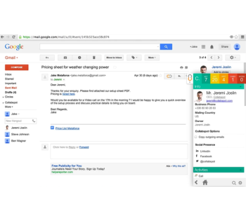 Collabspot for Gmail